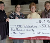 Thanks to our donors, the Foundation supports the Palliative Care Unit.